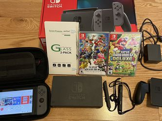 Nintendo Switch Bundle (Extended Battery Life Model) for Sale in Tacoma,  WA