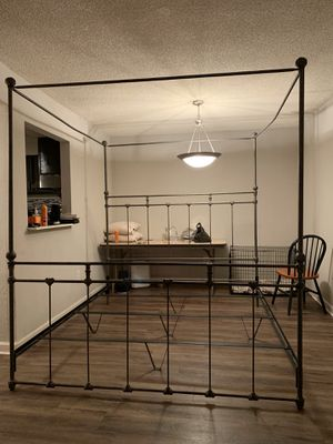 King Size Iron Bed Frame for Sale in Atlanta, GA