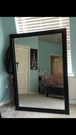 Black mirror for Sale in Clovis, CA