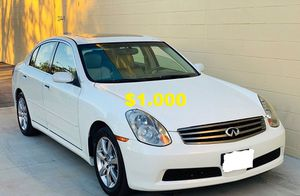 🍁The best price$1,0OO 🌟I'm selling 2005 Infiniti G35 🍁🍁 for Sale in Anaheim, CA