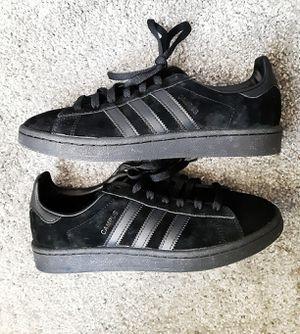 Adidas campus black suede sz 8.5 for Sale in Los Angeles, CA