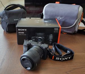Sony a6400 Mirrorless camera |18-135mm OSS Lens for Sale in San Francisco, CA