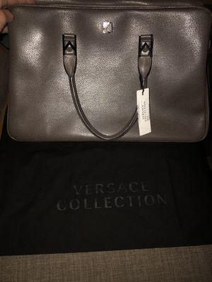 VERSACE COLLECTION BAG!!!! AUTHENTIC WITH TAGS AND DUSTER BAG!! for Sale in Kent, WA