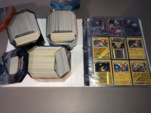 Pokemon Card Lot with Binder for Sale in Chandler, AZ