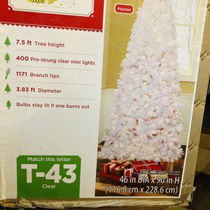 Christmas Tree - Artificial for Sale in Alexandria, VA