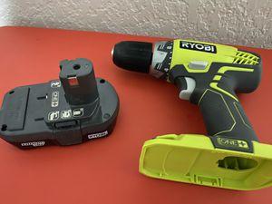 Ryobi Drill 18V ONE for Sale in Pompano Beach, FL