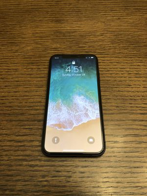 iPhone X Factory Unlocked AT&T 64 GB for Sale in Wheaton, MD