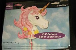 Unicorn Foil balloon for Sale in Flint, MI