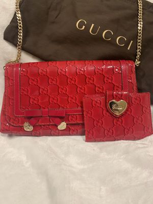 Gucci purse and wallet set new for Sale in Fremont, CA