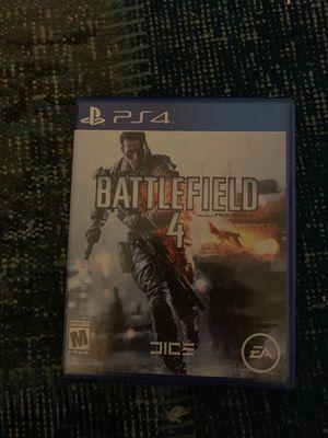 PS4 battlefield 4 for Sale in Costa Mesa, CA