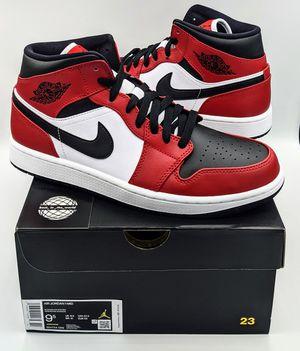 "Air Jordan 1 Mid ""Chicago Black Toe"" - Size 9.5 for Sale in Dallas, TX"