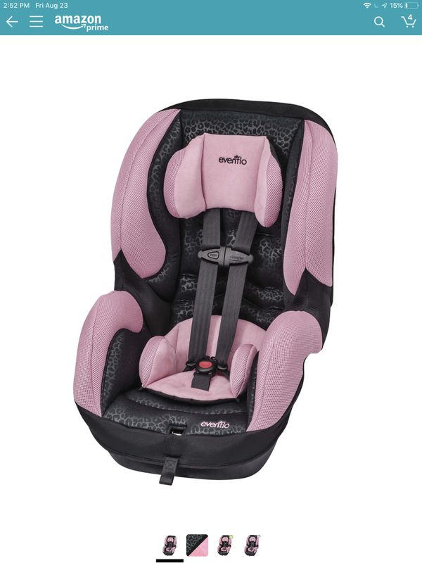 Evnflo Toddler and infant car seat