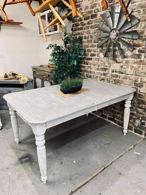 Huge Farmhouse Dining Table / Kitchen Table Distressed for Sale in Joliet, IL