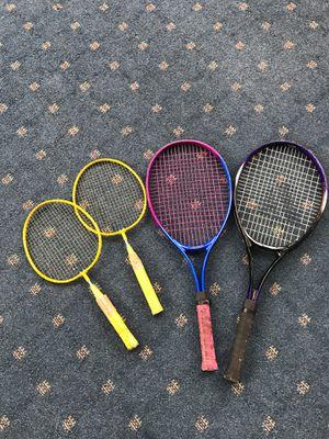 Tennis & Badminton rackets for Sale in Germantown, MD