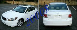 LIKE NEW~2008 Honda Accord EX-L for Sale in Roanoke, VA