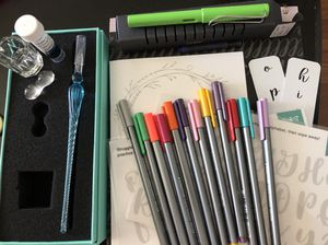 Fountain pen/lettering lot for Sale in St. Louis, MO