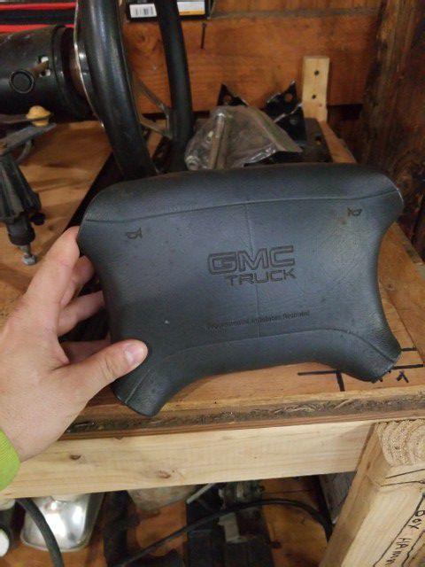 96 GMC Jimmy air bag