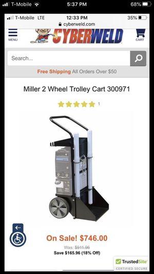 Miller welder dynasty 200dx 2 wheel trolly cart for Sale in El Monte, CA