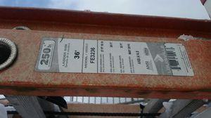 36' Louisville Professional Fiberglass Extension Ladder for Sale in Seattle, WA