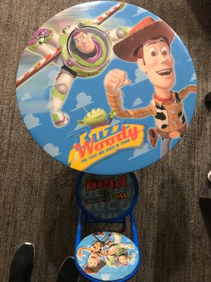 Kids Toy story table set for Sale in Santa Ana, CA