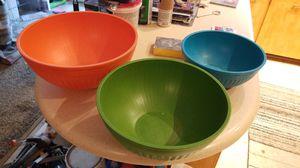 Free color bowls for Sale in Boca Raton, FL