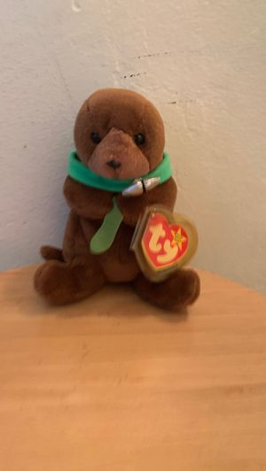 Ty beanie babies Rare (Seaweed) beanie baby bear. Collectible rare kids toys cheap valuable special plushie deal sell for Sale in El Cajon, CA