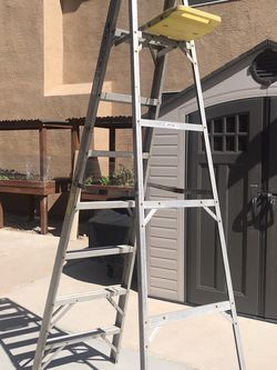 8 FT Werner Aluminum Ladder for Sale in Nellis Air Force Base,  NV