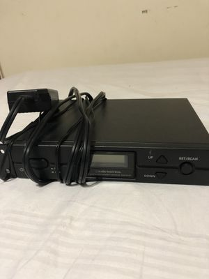 Audio Technica ATW-R2100 Receiver and ATW-T210 Transmitter for Sale in Adelphi, MD
