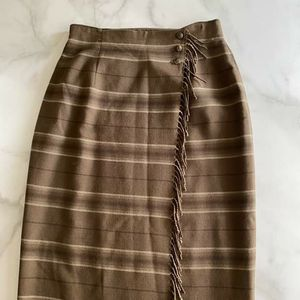 Ralph Lauren Wool Maxi Skirt with Fringe Detail for Sale in San Diego, CA