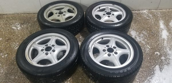 4 16 in 5x120 wheels rims and tires bmw