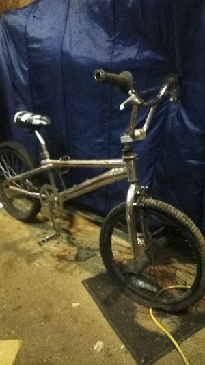 "Mongoose 20"" chrome BMX bike for Sale in Klamath Falls, OR"