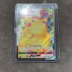 pokemon Pikachu Vmax Korean for Sale in Washington,  DC