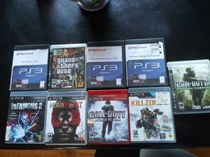 PS3 Videogame Lot for Sale in Romeoville, IL