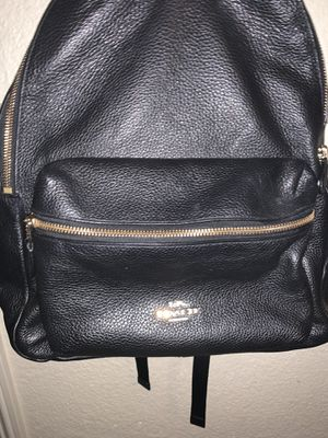 Coach leather backpack for Sale in Modesto, CA