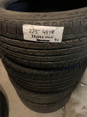 225 45 18 Bridgestone for Sale in Hanover Park, IL