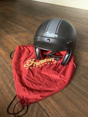 Indian Motorcycle helmet - black - size large for Sale in Phoenix, AZ