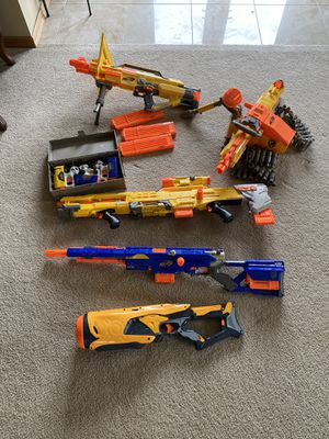 Nerf guns and darts for Sale in Tinley Park, IL