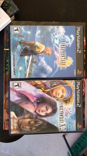 Final fantasy ps2 game set for Sale in Peoria, AZ