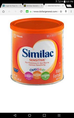 Similac sensitive 12 oz cans for Sale in Tacoma, WA
