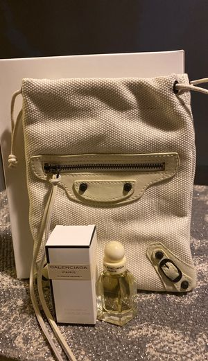 Women's miniature perfume- Balenciaga Paris with make up pouch. for Sale in Riverside, CA