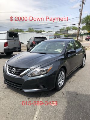 2016 Nissan Altima $ 2000 Down Payment for Sale in Nashville, TN