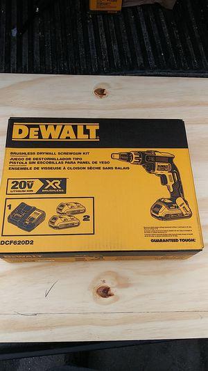 ( New ) DeWalt 20 volt Max XR brushless drywall screw gun kit for Sale in Harrisburg, PA