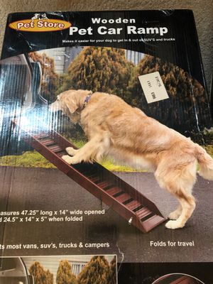 Pet / dog Car or truck Ramp wood, new never opened for Sale in Auburn, WA