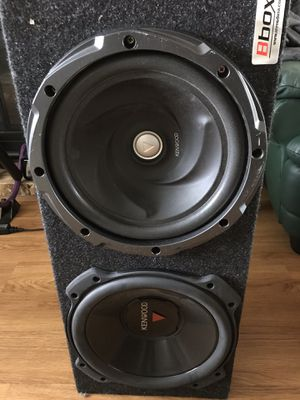 """Kenwood 12"""" Subs & Amp for Sale in Olympia, WA"""