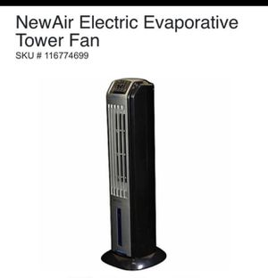 New air electric evaporative tower fan for Sale in Las Vegas, NV