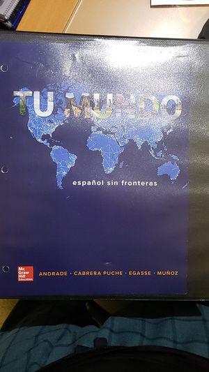 Tu Mundo with Access code for Sale in Irvine, CA