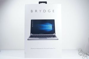 Brydge- Bluetooth Wireless Keyboard for Microsoft Surface Pro 4 5 6 & 7 (Silver) for Sale in Rancho Cucamonga, CA
