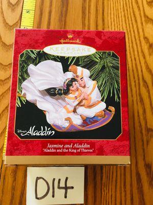 Christmas Hallmark Disney's Jasmine and Aladdin for Sale in San Jose, CA