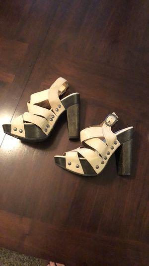 Lucky Brand Clunky Heel Peep Toe 7 1/2 M for Sale in Heathrow, FL