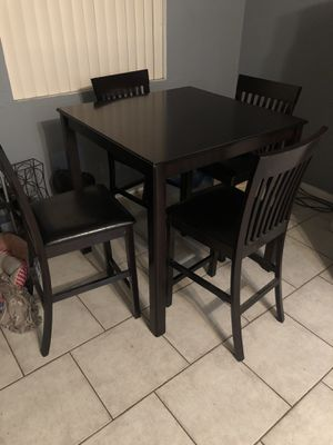 Dinning table and 4 chairs on Hold for Sale in San Bernardino, CA